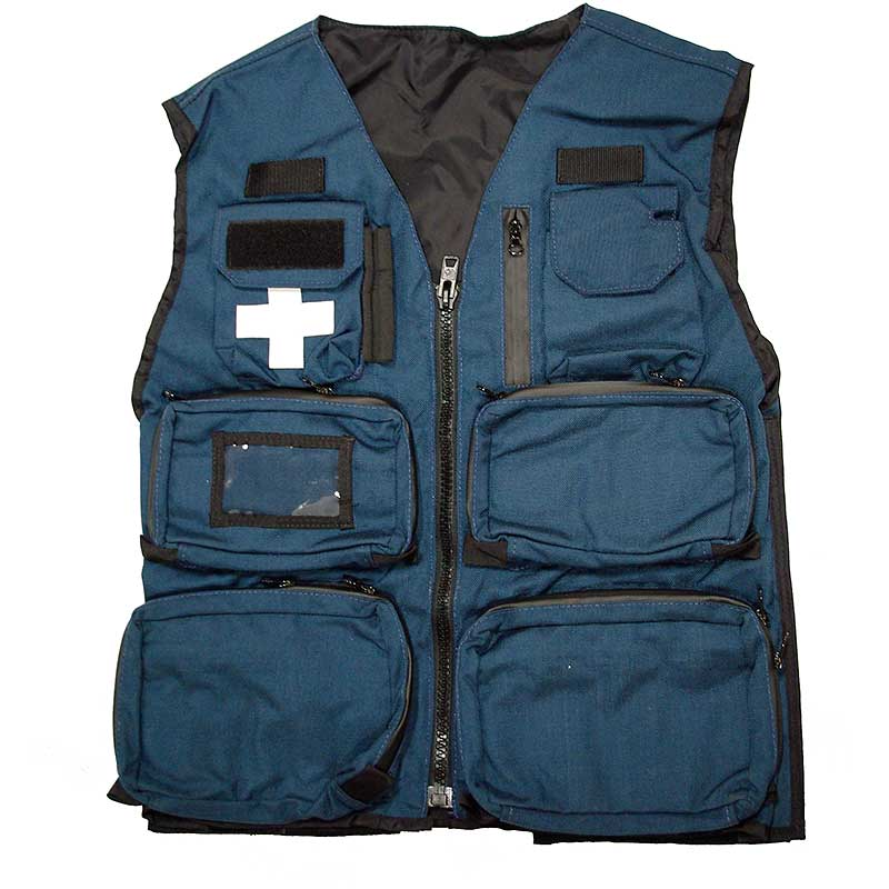 Summit Patrol Vest Blue Front