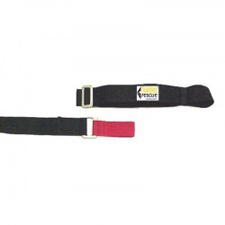 Webbing Restraint Strap with Metal Buckle, Separated