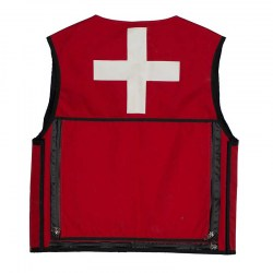 Summit Patrol Vest Red, Back
