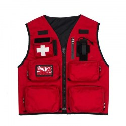 Summit Patrol Vest Red, Front