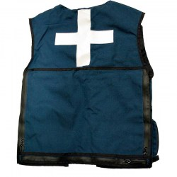 Summit Patrol Vest Blue Back